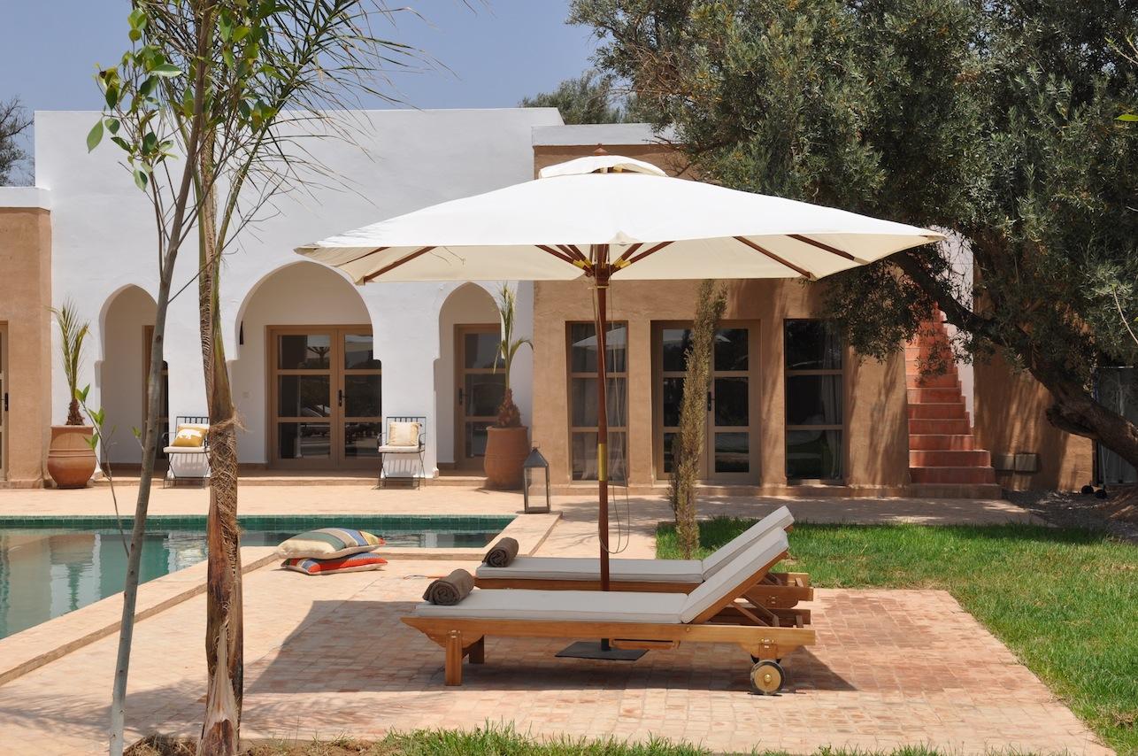 Location vacances villa taroudant photos et for Location saisonniere villa