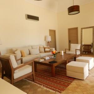 Salon de la Villa Taroudant
