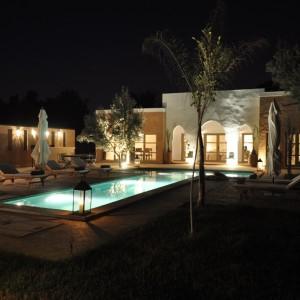 La Villa Taroudant le soir